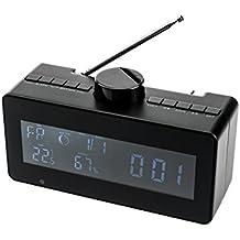 Kobert Goods estación meteorológica DV80con manual rotatorio de seguridad HD sensorgesteuerte grabación de fotografía, vídeo y grabación de sonido en HD con lector de tarjeta SD, interfaz USB & U de disco de uso