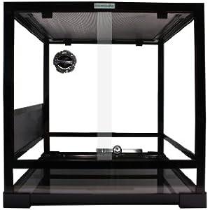 Komodo Terrarium, flach verpackt Glas, 45x 45x 45cm