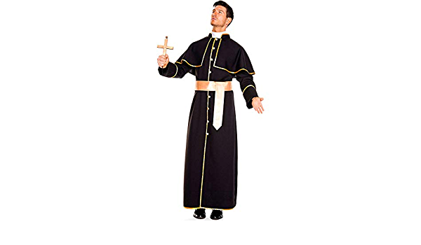 Confessionnal Costume Prêtre au confessionnal Messieurs Costume One Size