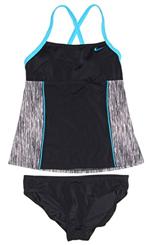 Nike Women's Tankini Athletic Two-Piece Swimsuit (Womens Nike Tankini)