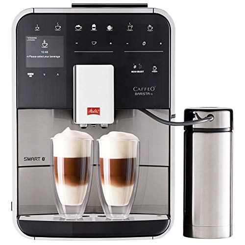 Melitta F86/0-100 Barista TS Smart Coffee Machine, 1450 W, 1.8 liters, Stainless Steel thumbnail