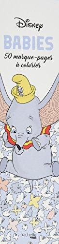 Marque-pages Disney Babies: 50 marque-pages à colorier