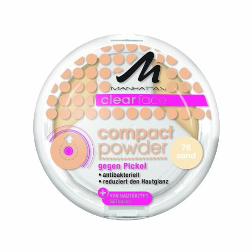 Manhattan CF Compact Powder 76 1er Pack (1 x 9 g) - Face Palette Compact