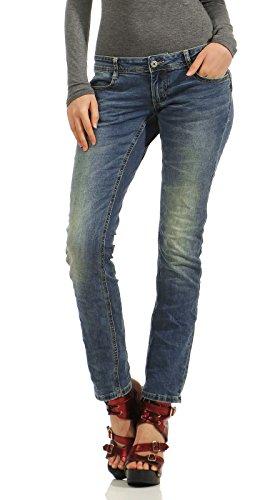 M.O.D Damen Jeans Hose Alice Regular Straight-Cut salt lake blue 27/32