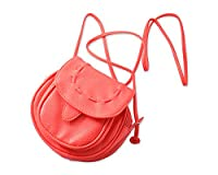DSstyles Lovely PU Leather Carrying Shoulder Bag Case for Fuji Fujifilm Instax Mini 8 Instant Camera - Red