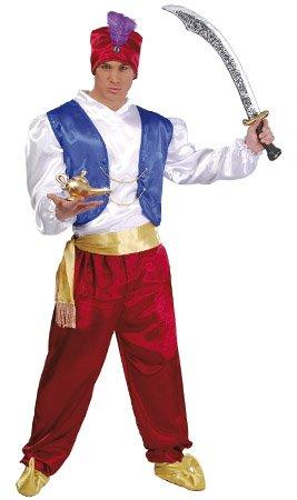 Maharadscha - Kostüm für Herren Gr. M/L, - Aladdin Kostüm Herren