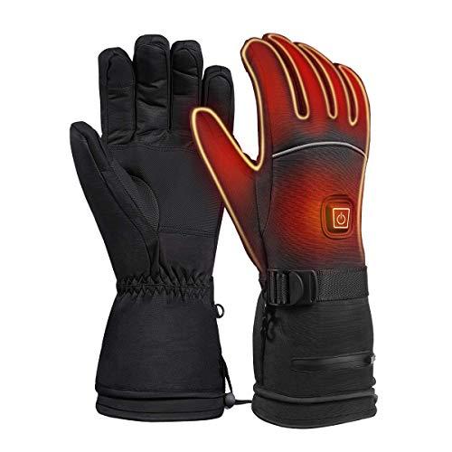 FHG AUTO Wintersport Thermal Insulate Handschuhe zum Klettern Skilaufen Wandern, 3 Wärme, 7,4 V für das Radfahren Motorrad Wandern Skifahren Bergsteigen