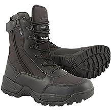 9e0032a16e1831 Kombat UK pour Homme Special Ops Noir Bottes Armée léger Fermeture Éclair  Latérale Taille ...