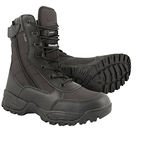 Kombat UK Spec-Ops Recon, Herren Stiefel, schwarz, 43 EU (9 UK) Cordura-nylon-boot