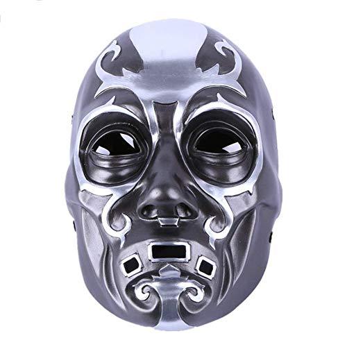 WLXW Paintball Taktische Maske Anime Maske Cosplay Party Bauta Maske Halloween Kostüm Film Thema Maske Todesser Harz - Todesser Maske Kostüm
