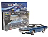Revell Modellbausatz Auto 1:25 - 1968 Dodge Charger R/T im Maßstab 1:25, Level...
