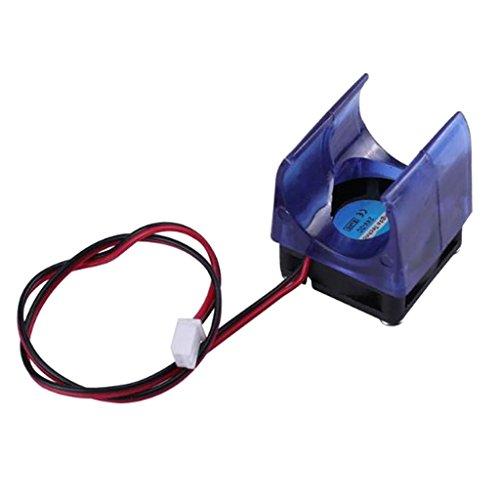 H HILABEE 12V Inyección Azul Radiador Moldeo A Presión