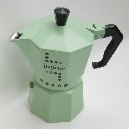 CAFF JUNIOR -VERDE- X 6 TAZZE E