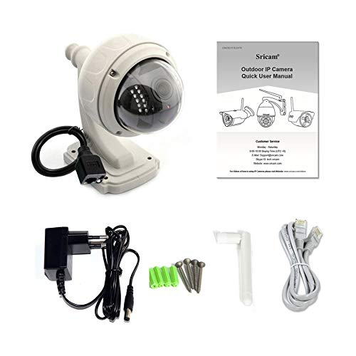 Yao 360-degrees Rotary Monitor Camera Outdoor HD 720P Wireless WiFi IP Dome  Camera