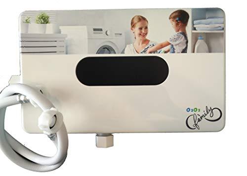Stromerzeuger von Ozon für Waschmaschine mit zwei Ebenen von Ozon, Ozonisator Schalter für Waschmaschine. Lava mit Kaltwasser und entfernt Schmutz, Fett, Fett und Gerüche (Generator-schalter)