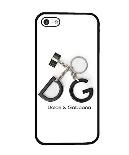 Iphone 5c Custodia Case, Brand Logo D&G Exclusive Unique Style Anti Scratch Plastic Shell Custodia Case twoe-025