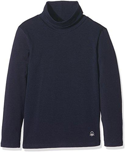 united-colors-of-benetton-3dr6c2458-camiseta-de-cuello-alto-para-ninas-azul-navy-18-24-meses-talla-d