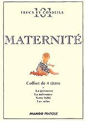 101 trucs & conseils : Maternité, coffret de 3 titres + 1 graduit