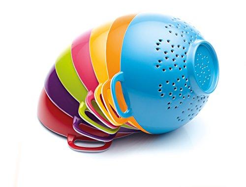 Colourworks Kleines Melamin-Standsieb, 15 cm – Blau - 2