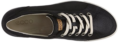 Ecco Ecco Summer Zone, Derbies à lacets femme Noir - Schwarz (BLACK-BLACK/LION)