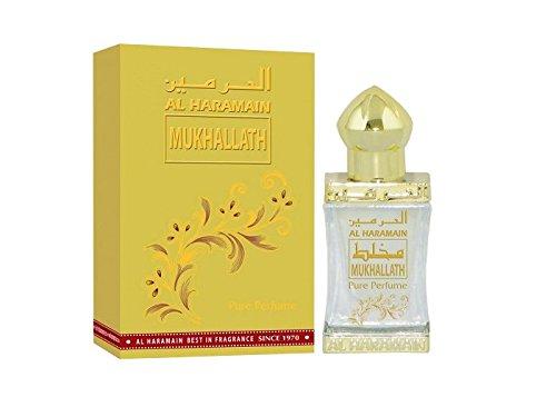 Mukhallath Pure Oil 12ml Al Haramain Parfümöl hochwertig arabisch oud misk musk