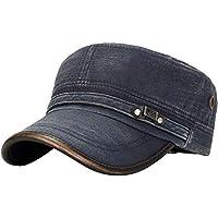 Bestshope Gorra de béisbol de Visera de algodón al Aire Libre de otoño e  Invierno para 3dd75878966