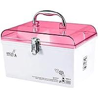 SLH Rosa Medizin-Kasten-Zuhause-Erste-Hilfe-Kasten-medizinische Droge-Aufbewahrungsbehälter-Familie Tragbare Kindermedizin-Kasten... preisvergleich bei billige-tabletten.eu