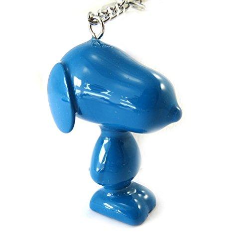 Llaveros 'Snoopy'azul.