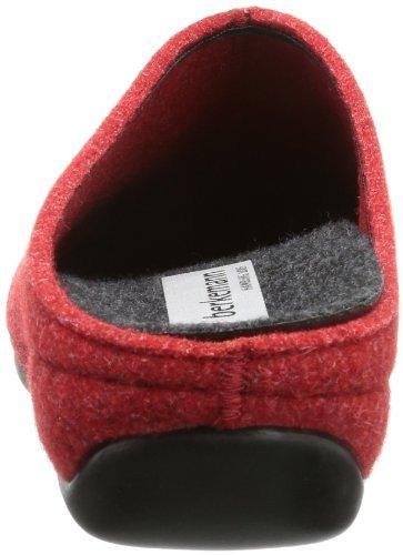 Berkemann Florina Damen Pantoffeln Rot (rot 235)