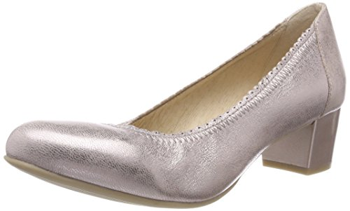 Caprice Damen Pumps, Pink (Rose Metallic 520), 40 EU
