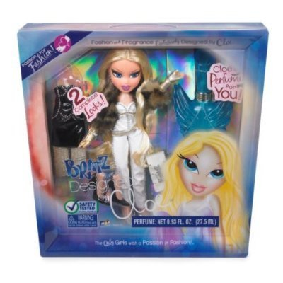 Bratz Passion For Fashion Series Fashion and Fragrance 9 Inch Doll Set - Cloe with 2 Complete Outfits, White Hairbrush and Fragrance Exclusively Designed By Cloe For You by Bratz