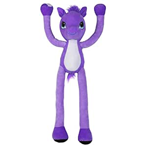 Stretchkins Pony Plush Toy Purple Amazoncouk Toys Games