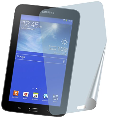 2x Samsung Galaxy Tab 3 Lite 7 SM-T110 SM-T113 ENTSPIEGELNDE PREMIUM Displayschutzfolie Bildschirmschutzfolie Schutzhülle Displayschutz Displayfolie Folie