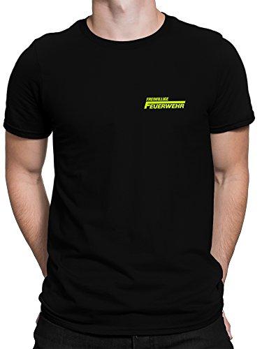 vanVerden Herren Fun T-Shirt Freiwillige Feuerwehr 112 Brust -