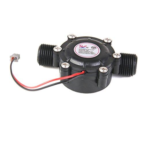 Homyl Kit De Cargador Hidráulico Para Hidrogenerador DC 12V Hydrolectric Water Power Micro