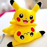 LQT Ltd Kawaii Pikachu - Estuche para lápices, diseño de Lunares,...