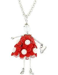 Niña Collar Le Carose Toco D Encanto Colección Carosine cab010  Mujer-33 CIAO BIMBI - Zapato de cordones plateado  38 7eDCW