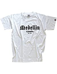 Shirtzshop T Shirt Medellin Columbia Est 1616