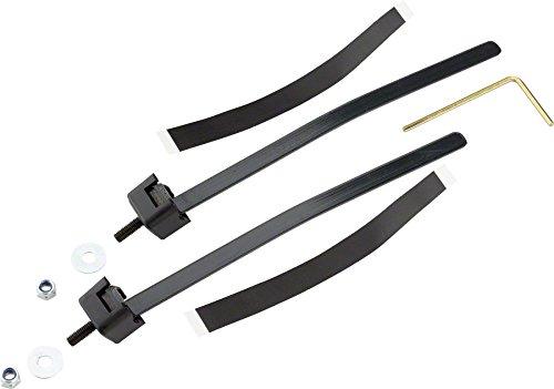 Abus Spannband Universal Rahmenschloss, schwarz, One Size