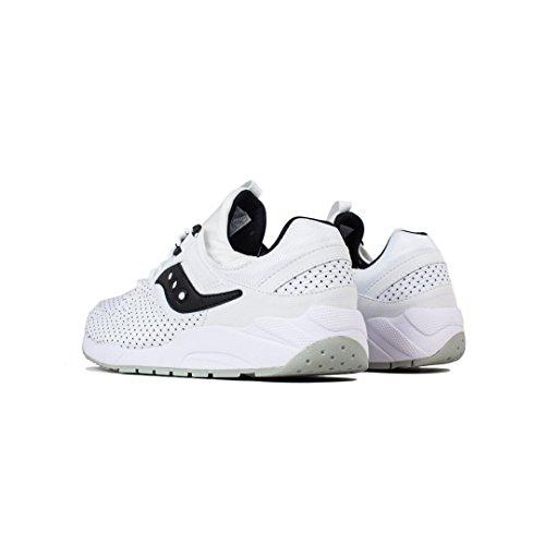 Sneaker Saucony Grid 9000 Bianco Bianco