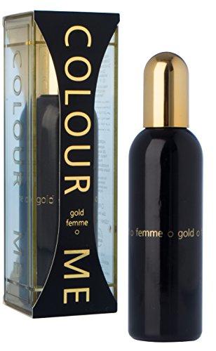 Couleur Or Me Femme Eau de Parfum pour Femme en flacon Vaporisateur 100 ml