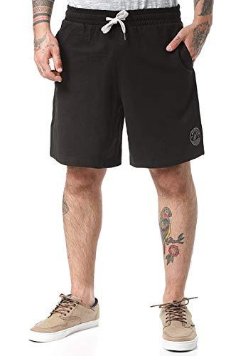Lakeville Mountain Herren-Shorts Logan | Kurze Hose für Herren | Coole Hose mit elastischem Bund (Schwarz, L)