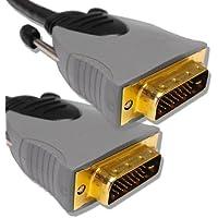 Cable Mountain-Cavo placcato oro, Dual Link da DVI-D DVI-D a Cable 3 m