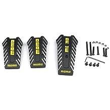 GORDESC 1 Set de Pedales de Aluminio de transmisión Manual para Coche de Carreras Antideslizantes Acelerador