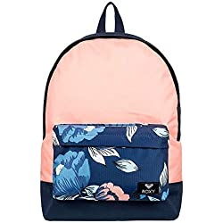 Roxy Sugar Baby Fitness Backpack, Mujer, Dress Blues Full Flowers fit, 1SZ