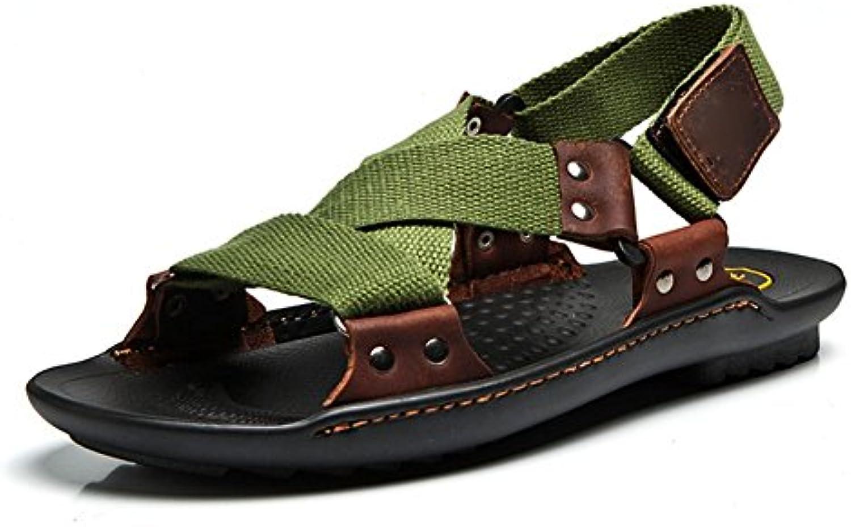 Weiwei Uomo Sabbia Pantofole,Netto Panno Sandali per Il Tempo Libero | Non così costoso  | Uomo/Donne Scarpa