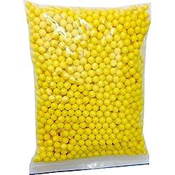 NEEZ Billes d'Airsoft Recharge Balles 6mm 0.20g, Premium de Haute qualité Surface polie, Biberon Pratique, Quantités; 2000, 4000, 5000, 10,000 Rondes (0,12 g, 2000 Billes Jaunes dans Un Sac)