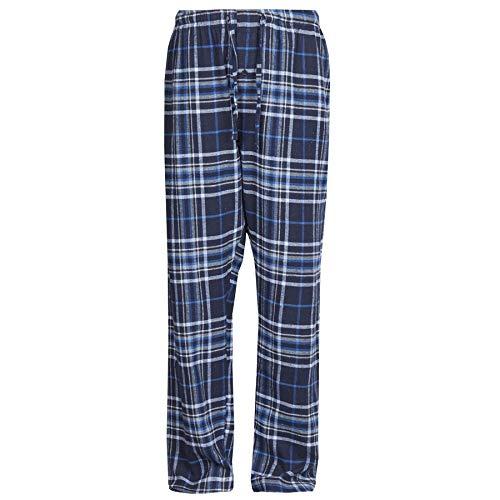 Pantalones Pijama Hombre Franela algodón, Pantalones