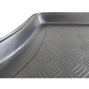 ZentimeX Z999648 Kofferraumwanne fahrzeugspezifisch schwarz RIFFELBLECH-DESIGN