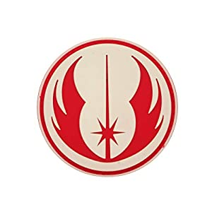 Cobra Tactical Solutions Star Wars Order of The Jedi PVC Patch with Hook & Loop for Cosplay/Airsoft / Paintball